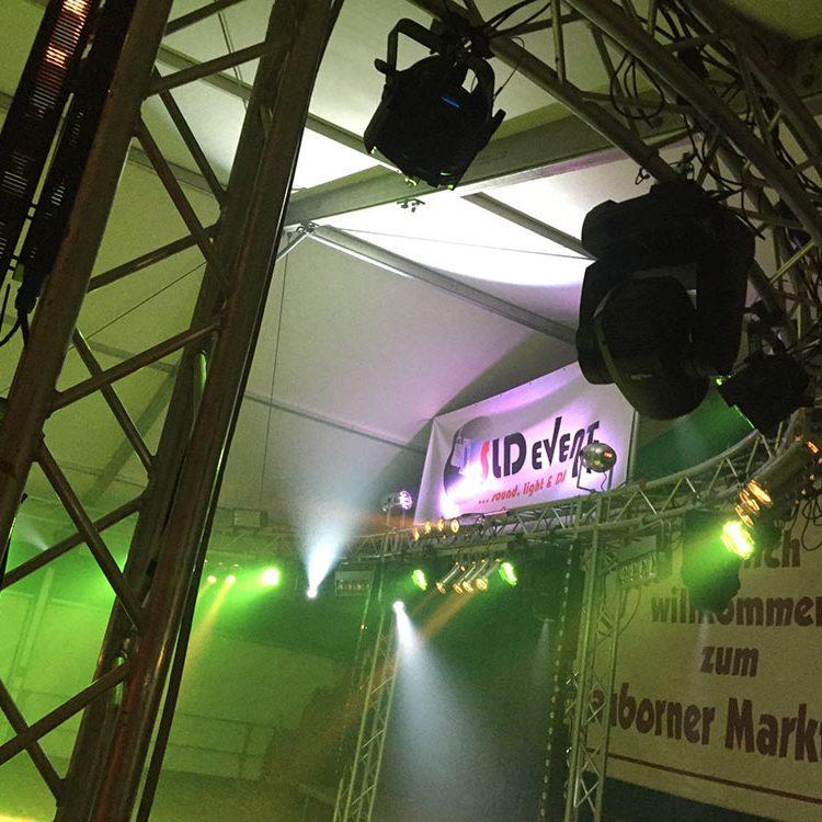 SLD Event auf dem Dauborner Markt